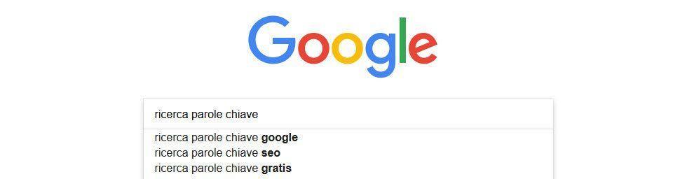 Ricerca delle parole chiave con gli strumenti seo google